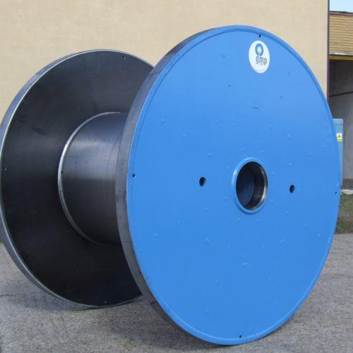 Blue Heavy Duty steel reel flange 1400 mm
