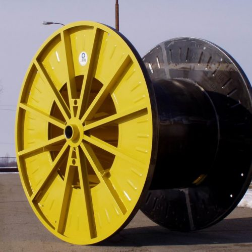 Cable drum manufacturer: steel reel with 2240 mm flange
