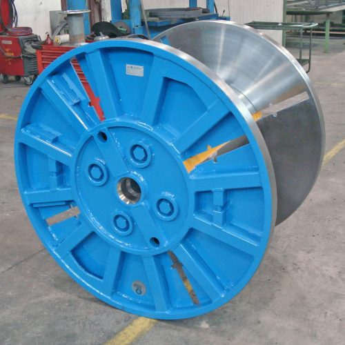 Collapsible reel 1000 mm flange