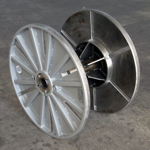 Collapsible reel 800 mm flange