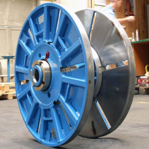 Collapsible reel, customized arbor