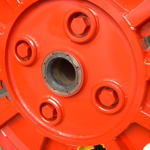 Collapsible reels central changeable bushing