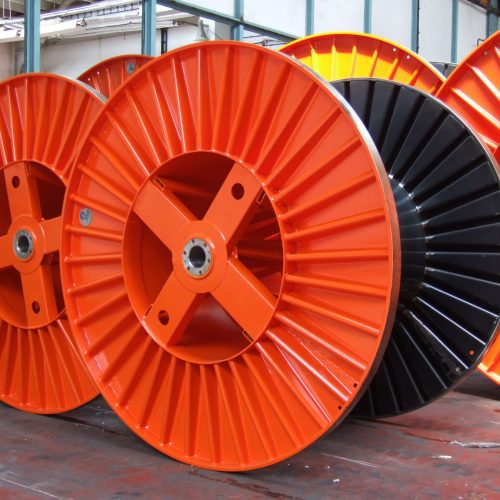 Corrugated steel drum 250 mm flange