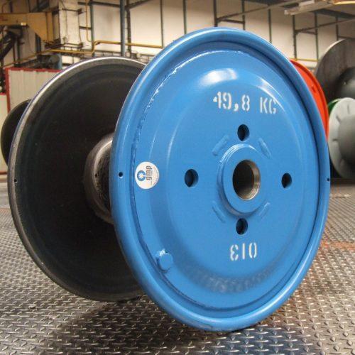 Customized blue steel reel, 560 mm