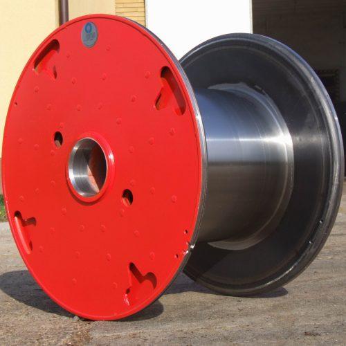 Heavy Duty steel reel, custom design 710 mm