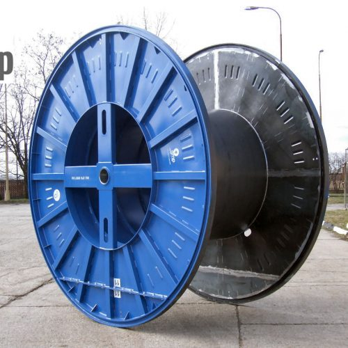 Industrial cable drum with flange 3320 mm