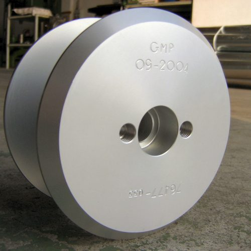 Large industrial wire spool