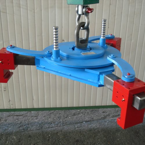 Lifter for three different flange diameters