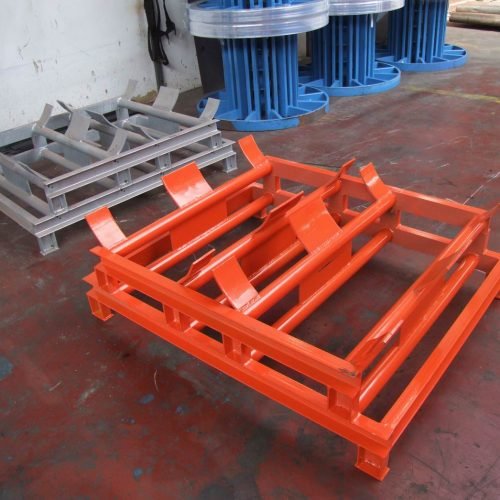 Orange pallet for 630 mm reel