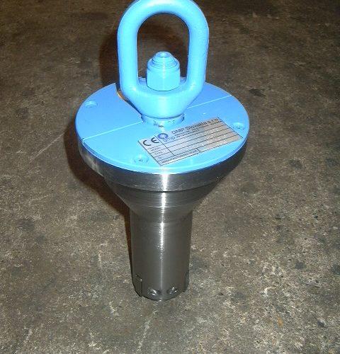 Reel lifting equipment - 75 mm hole