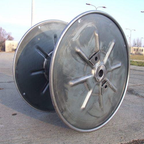 Single Wall steel reel unpainted