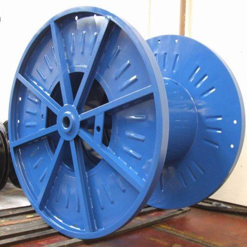Steel drum with 1800 mm flange