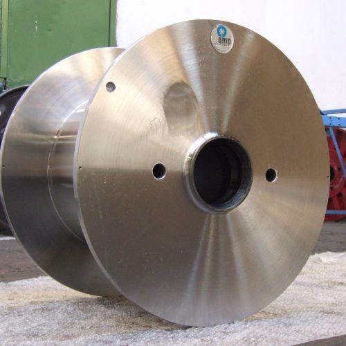 Steel cable reels with special hubs, 630 mm flange