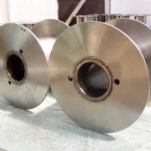 Steel cable reels 710 mm flange