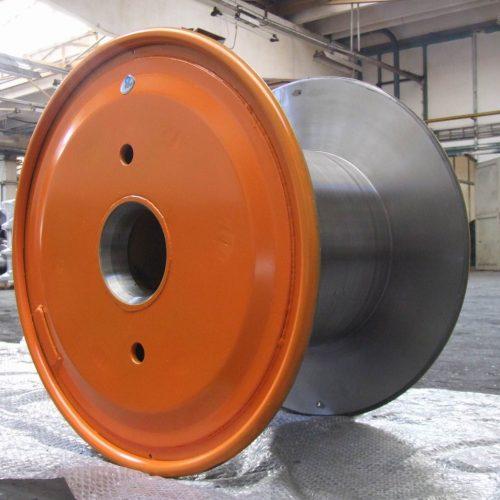 Steel reel flange 630 mm
