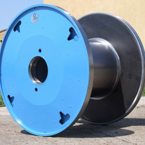 Steel reel sizes 1000 mm flange