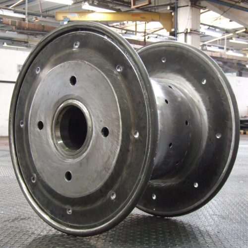 Steel spools anealing application