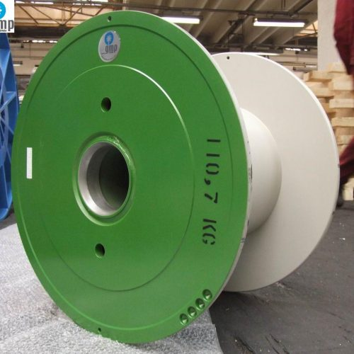 Steel wire reels for sale, green painting