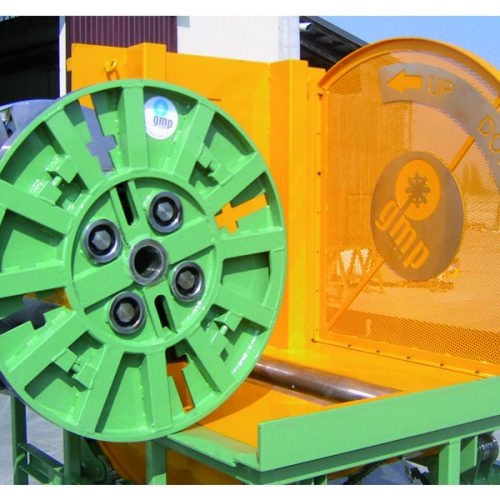 Tilting unit with reel