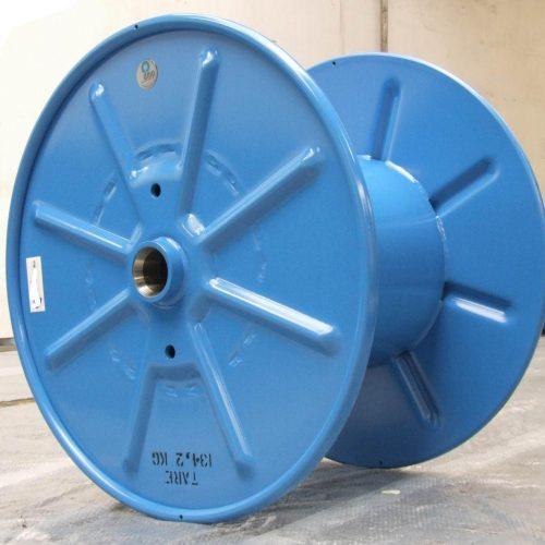 Single Wall steel reel, blue color